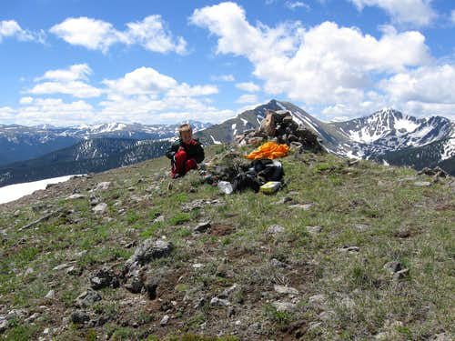Summit of Ptarmigan Peak
