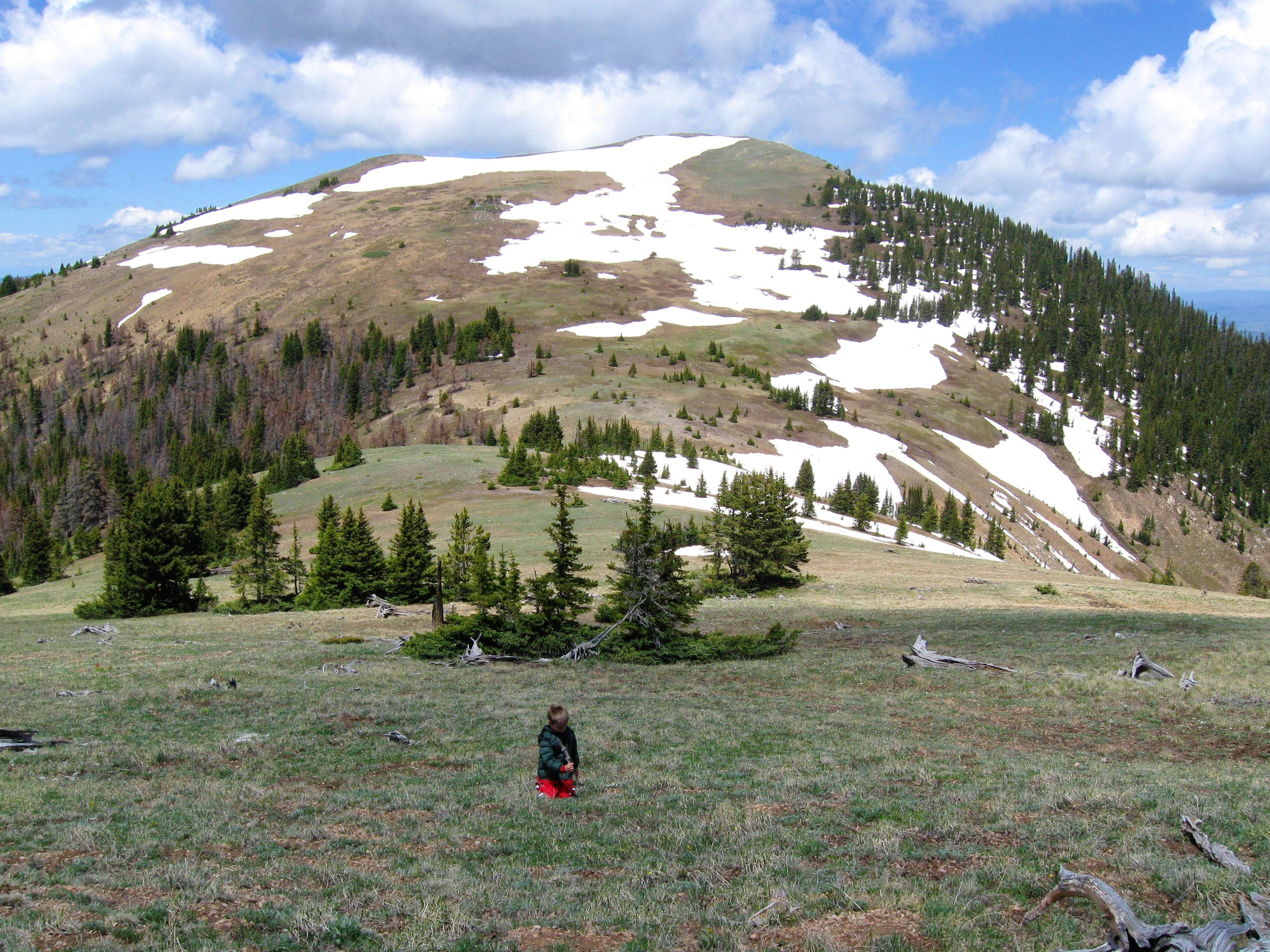 Ptarmigan Peak via Keyser Creek