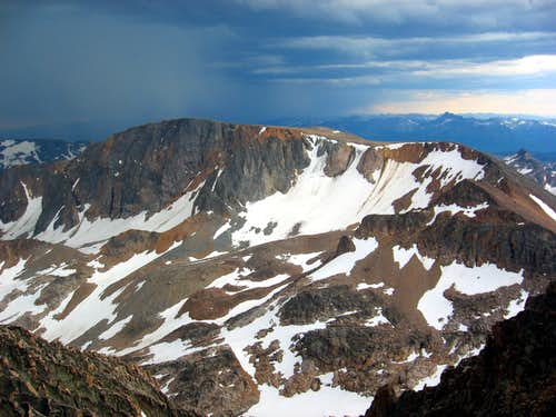 Cairn Mountain Crest from Granite Peak