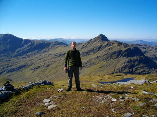 Me on Beinn Tharsuinn