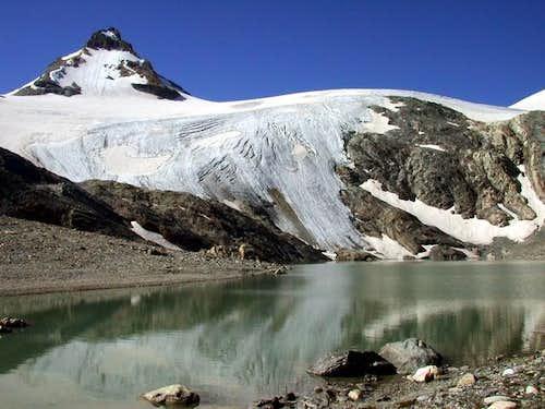 Goletta lake, Goletta glacier...