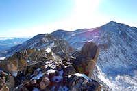 Ridge to Mount Columbia