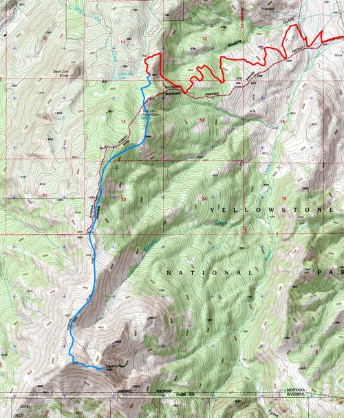Beattie Gulch Route
