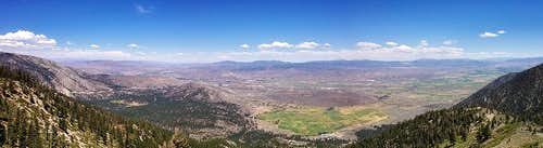 Duane Bliss Peak Summit Panorama