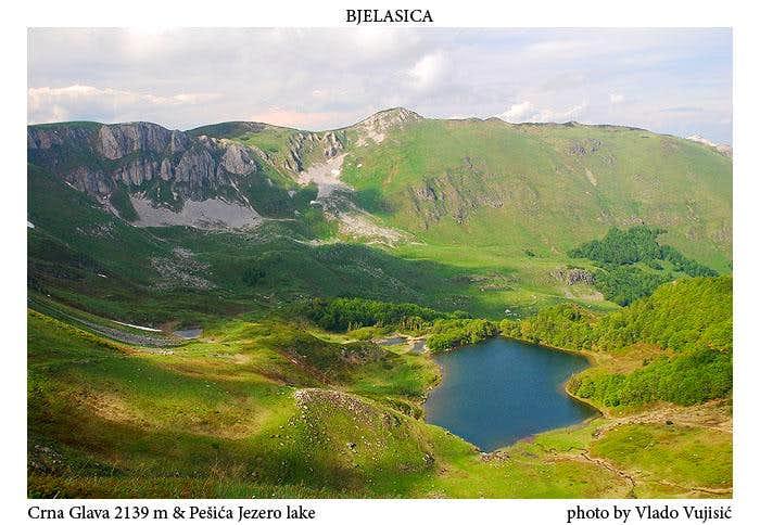 Crna Glava & Pešića Jezero lake