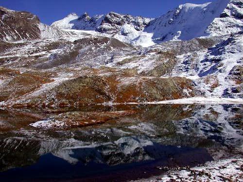 Lago di San Martino. Cima di...