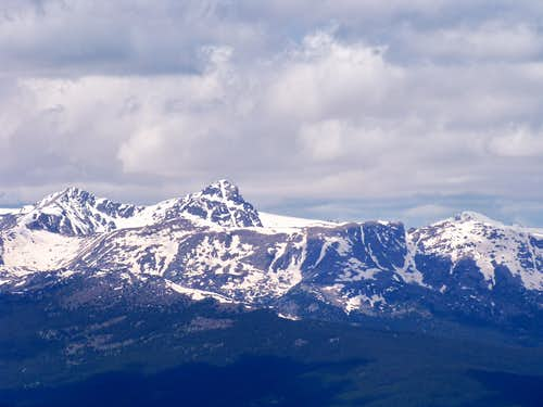 Mount of the Holy Cross from Elk Mountain