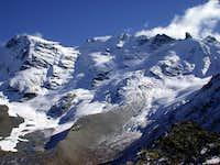 Invergnan glacier and Grande...
