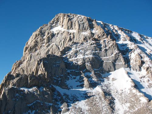 The North Face Of Mount Whitney