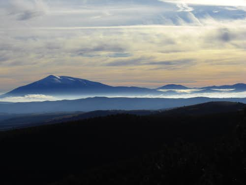 Moncayo from the northwest