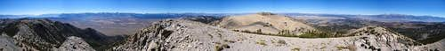 Glass Mountain Summit Panorama