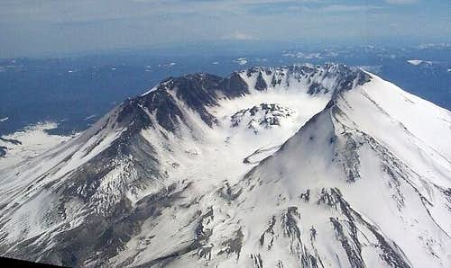 Flying near St. Helens is...