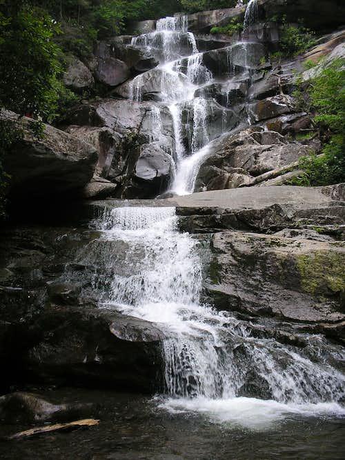 Road Prong Waterfalls, Ramsay Cascades & Fern Falls