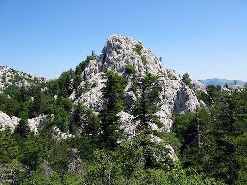 Bili Kuk cliff/peak
