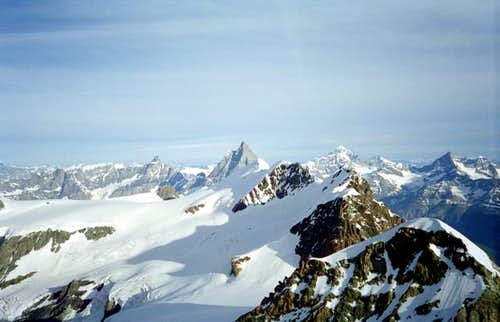 In front the Breithorn,...