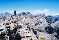 On the peak of Cunturines
