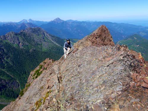 Redwic on the North Ridge