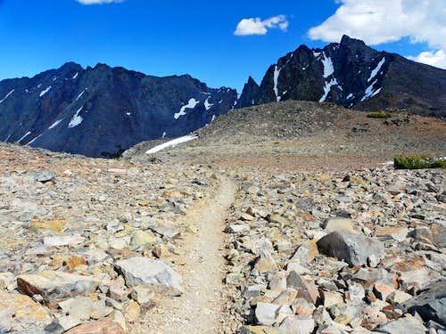 Black Mtn. and Black Cat Peak