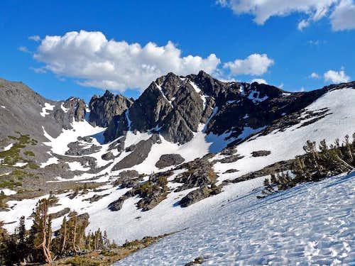 Black Cat Peak from the Summit Lake trail