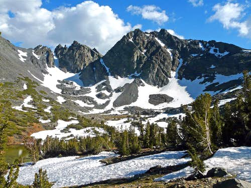 """Black Cat Peak"", 11,524\' from Summit Lake Trail"