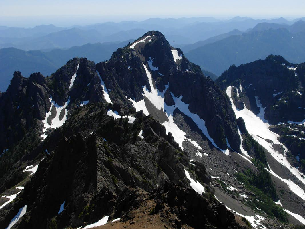 Mount Ellinor From Mount Washington