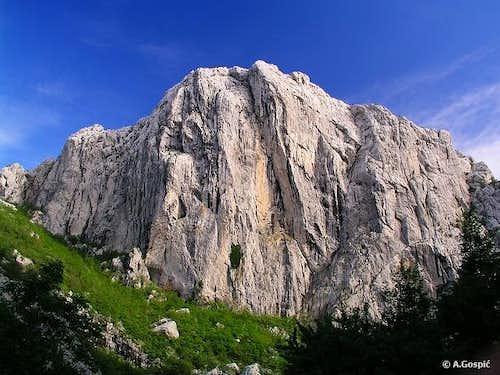 Anica Kuk (712m) in Velika...
