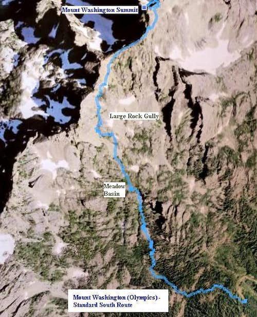 Mount Washington South Route