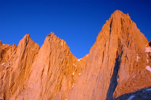 Day Needle, Keeler Needle and Mount Whitney