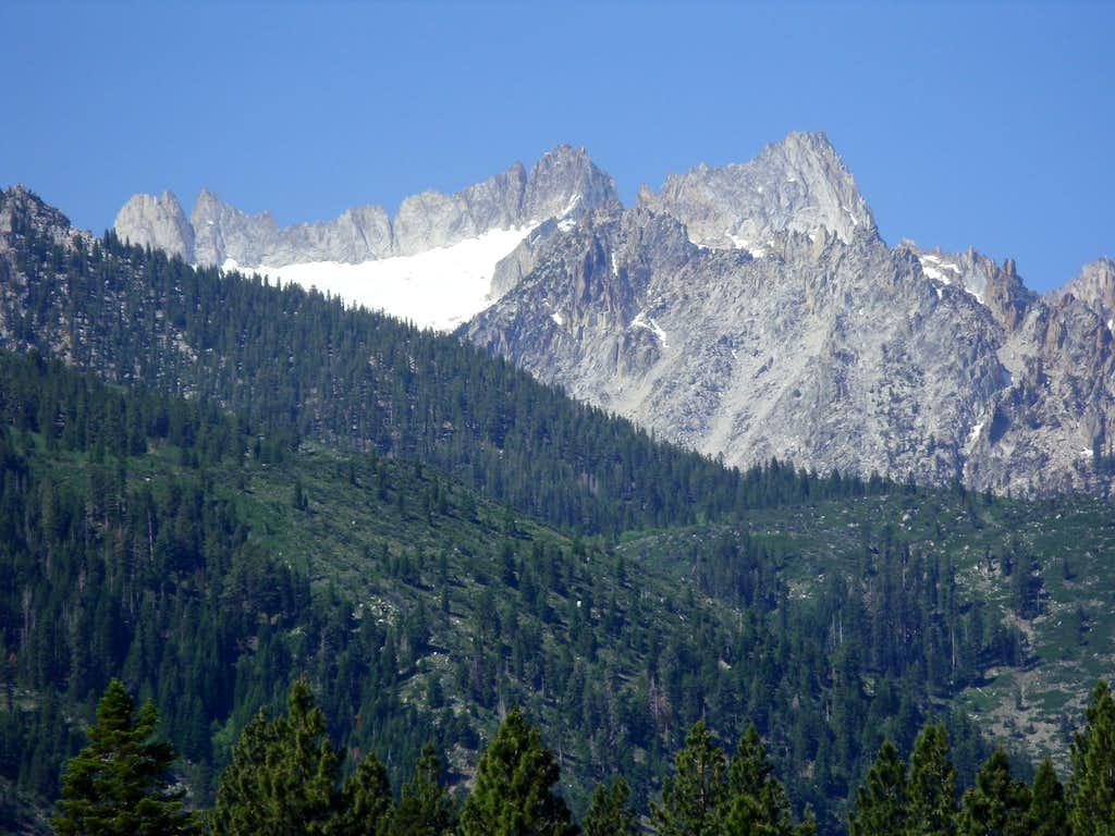 Cleaver Peak and Blacksmith Peak
