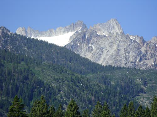 Cleaver Peak and Blacksmith Peak