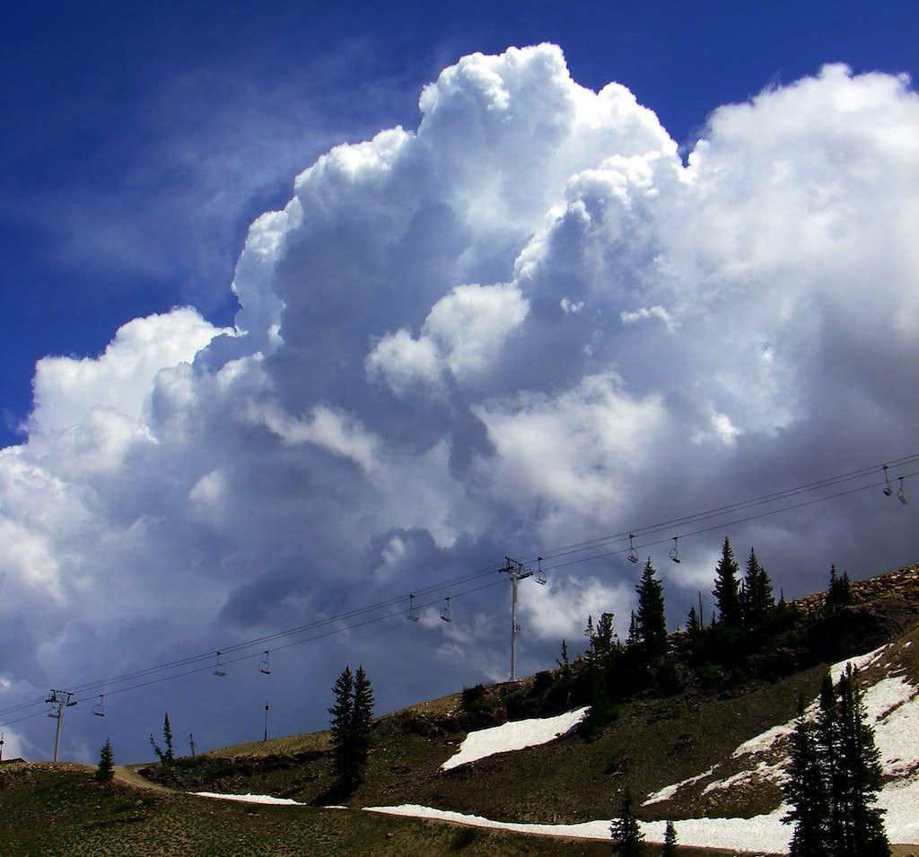 Cumulonimbus Cloud   Photos  Diagrams  U0026 Topos   Summitpost