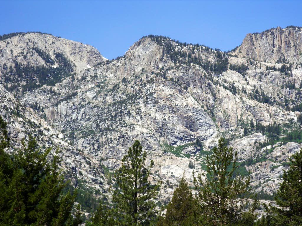 Peak 9903 - Hoover Wilderness