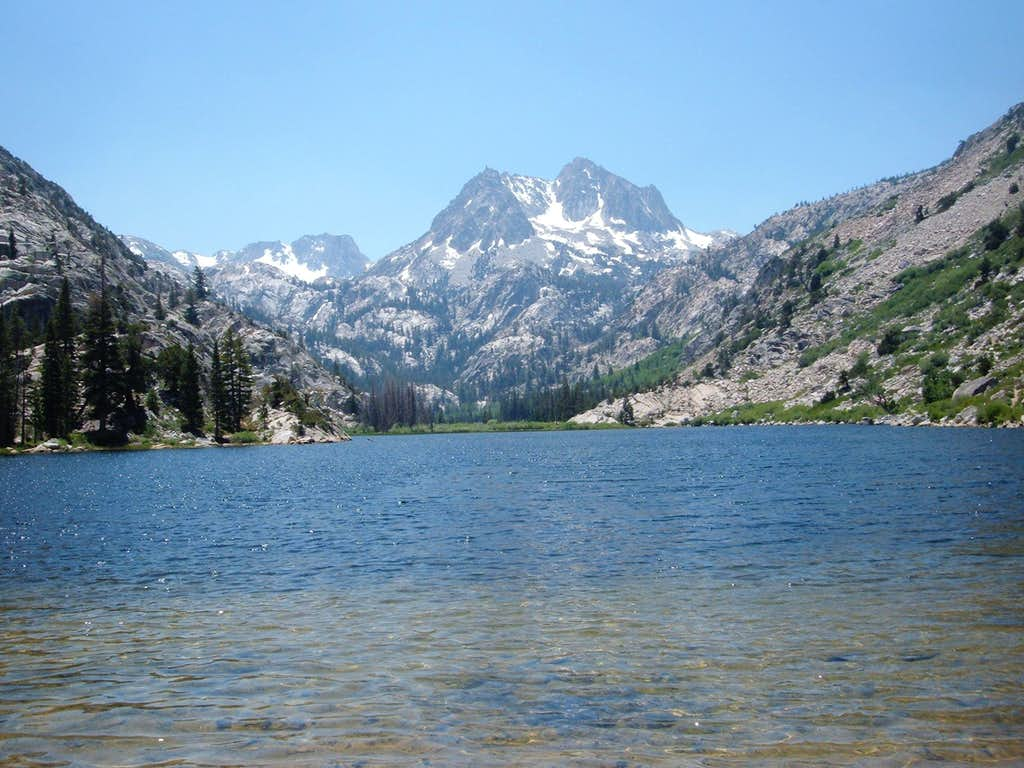 Crown Point from Barney Lake