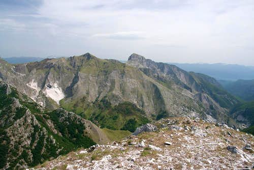 Monte Fiocca and Monte Sumbra
