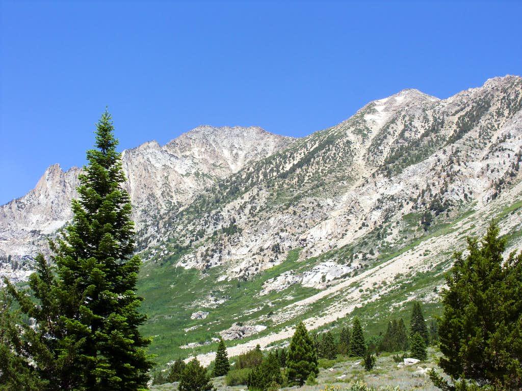 Hunewill Peak and Peak 11663