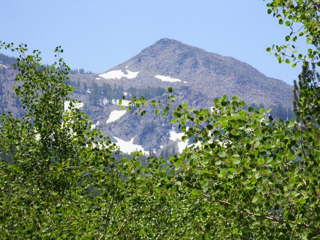 Zoom shot of Peak 10401