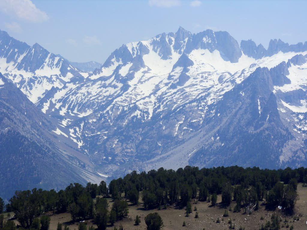 Zoom shot of Matterhorn Peak