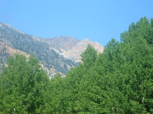 Robinson Peak from the west