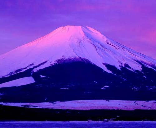 Mount Fuji of the alpen