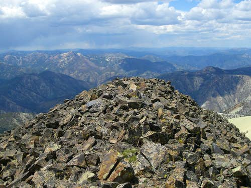 White Mountain\'s Summit