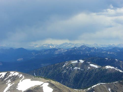 The Sawtooths from White Mountain