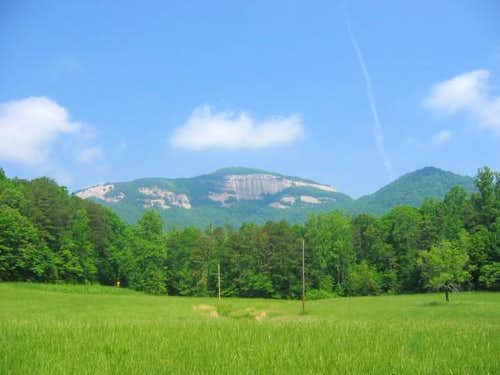 Table Rock Mountain from a...