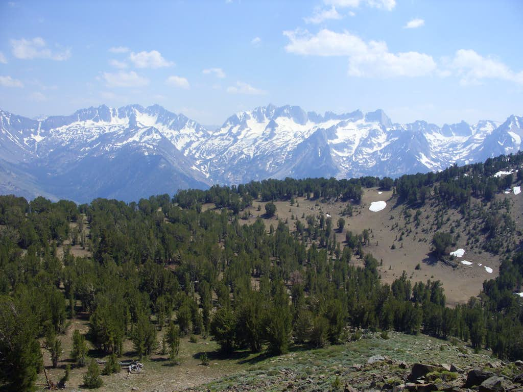 View of the Sawtooth Ridge