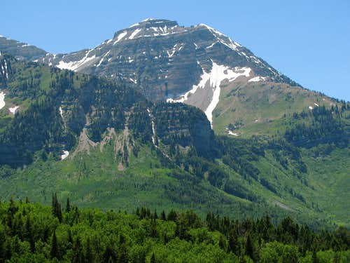 North Timpanogos from Alpine Loop