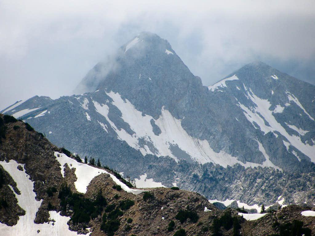 Pfeifferhorn from Mount Baldy