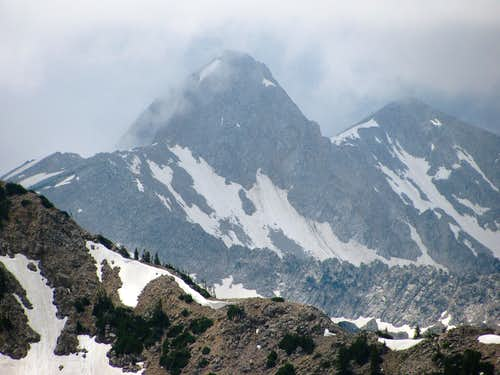 Pfeifferhorn from Mount Baldy