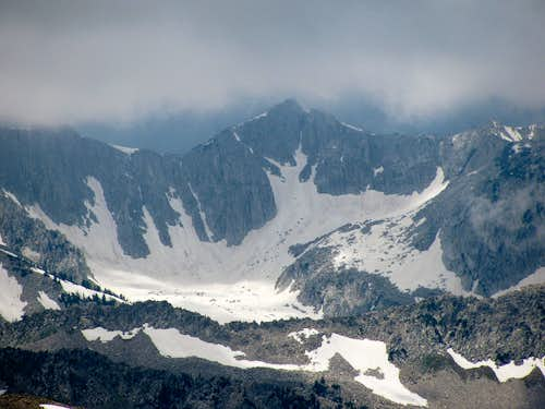 South Thunder Mountain from Mount Baldy