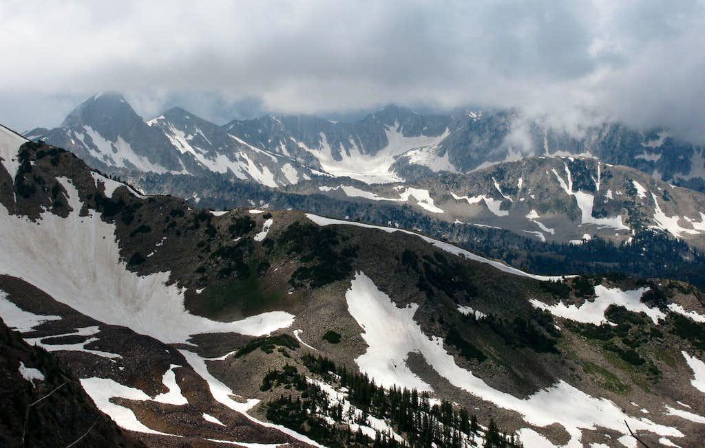 Alpine Ridge from Mount Baldy