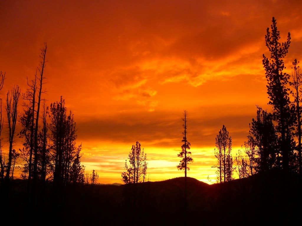 Frank Church Sunset