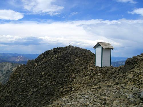 Idaho\'s Highest Outhouse